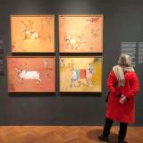 Nepal Art Now Exhibition at Welt Museum , Vienna , Austria - 2019