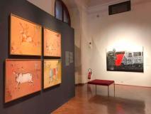 Gaijatra Series Works at Welt Museum , Vienna, Austria - 2019