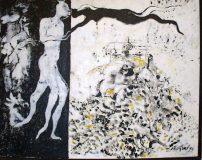 Flying Love I 1993 I Acrylic on Canvas I 63x81cm