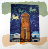 Time Movement, 2005 I Etching Mixed Media I 41x38cm I Private collection in different countries